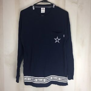 PINK DALLAS COWBOYS Long Sleeve Top